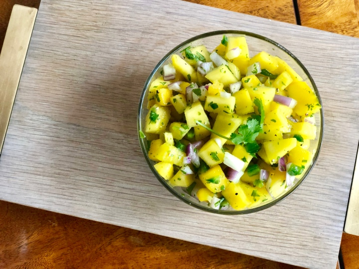 A Mango Salsa That Will Make You Forget it's ColdOutside