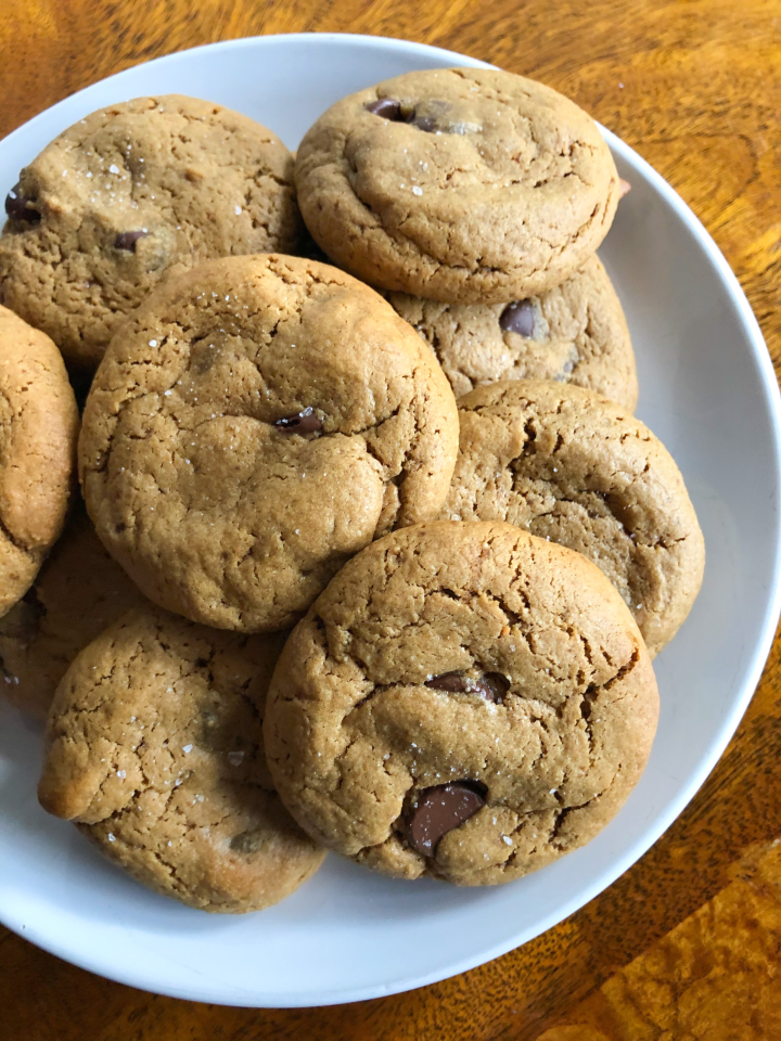 The Best GF Peanut Butter Chocolate ChipCookies